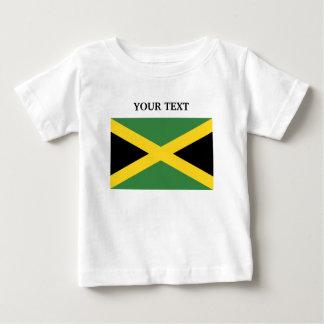 Bandera de Jamaica Camiseta De Bebé
