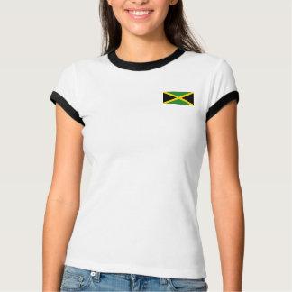 Bandera de Jamaica + Camiseta del mapa
