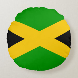 Bandera de Jamaica Cojín Redondo