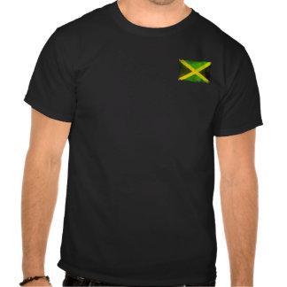 bandera de Jamaica - raíces del reggae Camisetas