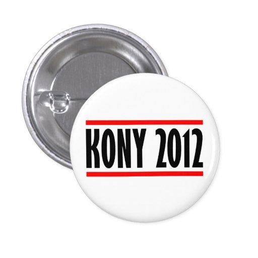 Bandera de José Kony de la parada de Kony 2012 Pin