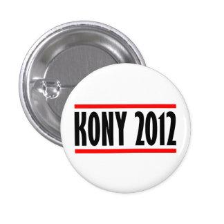 Bandera de José Kony de la parada de Kony 2012 Chapa Redonda 2,5 Cm