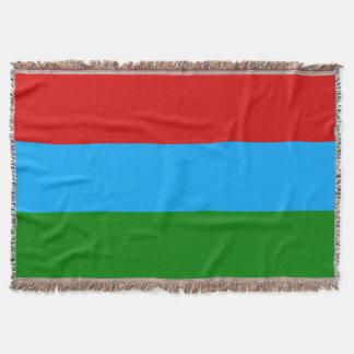 Bandera de Karelia Manta