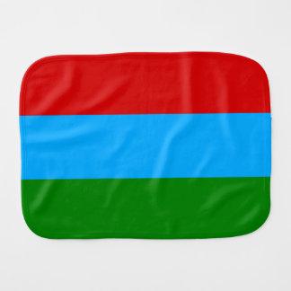 Bandera de Karelia Paños Para Bebé