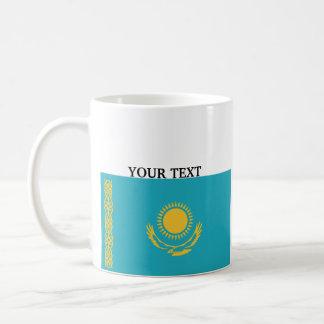 Bandera de Kazajistán Taza De Café