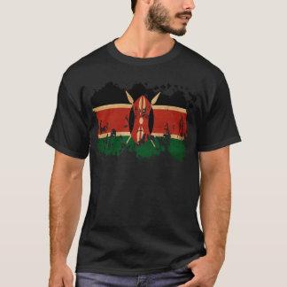 Bandera de Kenia Camiseta