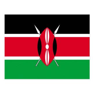 Bandera de Kenia Postal