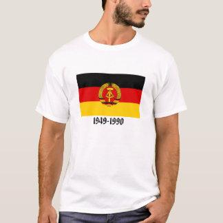 Bandera de la Alemania Oriental Camiseta