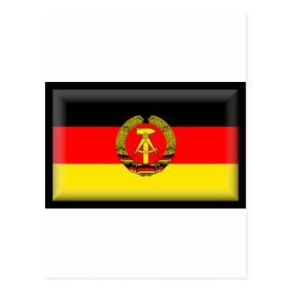 Bandera de la Alemania Oriental Postal