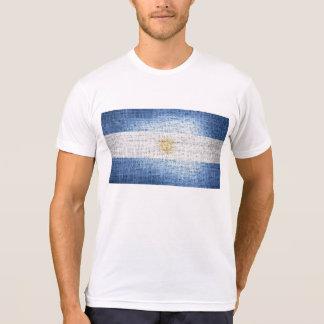 Bandera de la Argentina del Grunge Camiseta