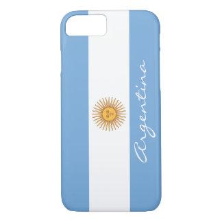 Bandera de la Argentina Funda iPhone 7