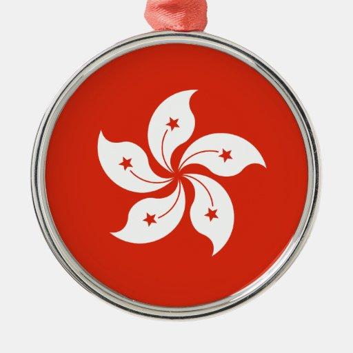Bandera de la bandera de Blakeana HK del Bauhinia Ornatos