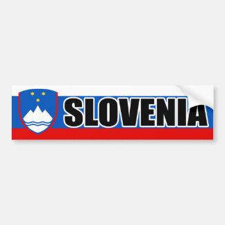 Bandera de la bandera de Eslovenia Pegatina Para Coche