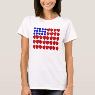 Bandera de la baya camiseta