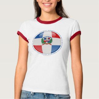 Bandera de la burbuja de la República Dominicana Camisetas