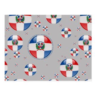 Bandera de la burbuja de la República Dominicana Postal