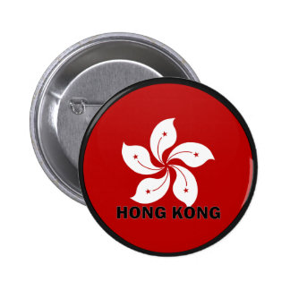 Bandera de la calidad de Hong Kong Roundel Chapa Redonda De 5 Cm