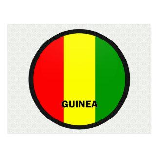 Bandera de la calidad de Roundel de Guinea Postal
