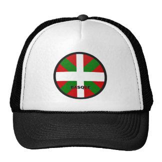Bandera de la calidad de Roundel del vasco Gorros