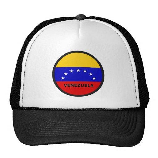 Bandera de la calidad de Venezuela Roundel Gorro De Camionero