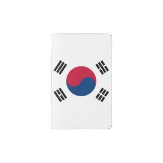 Bandera de la Corea del Sur Cuaderno De Bolsillo Moleskine