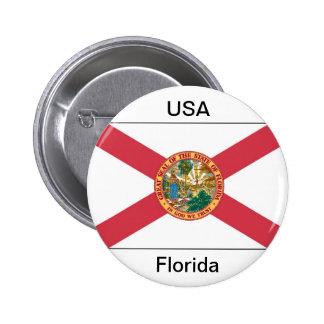 Bandera de la Florida Pins