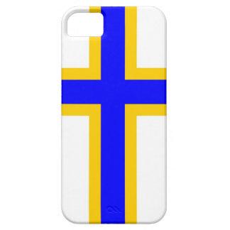 Bandera de la gente de los Finns de Suecia Funda Para iPhone SE/5/5s