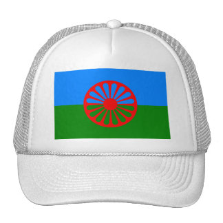 Bandera de la gente Romani - bandera Romani Gorra