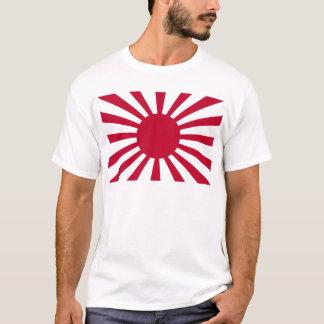 Bandera de la guerra del sol naciente del ejército camiseta