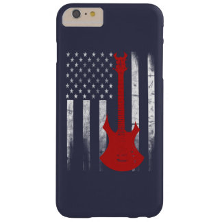 Bandera de la guitarra funda barely there iPhone 6 plus