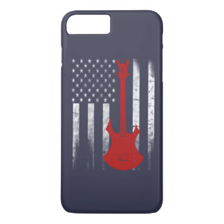 Bandera de la guitarra funda iPhone 7 plus