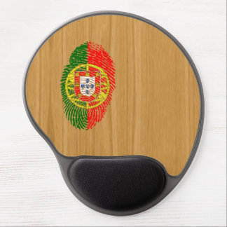 Bandera de la huella dactilar del tacto del alfombrilla de ratón de gel