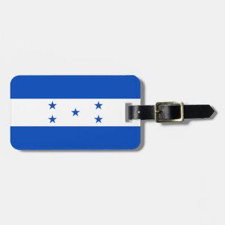Bandera de la identificación fácil de Honduras Etiquetas Para Equipaje