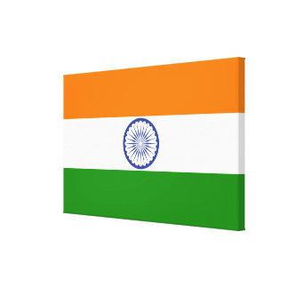 Bandera de la India Ashoka Chakra Lienzo