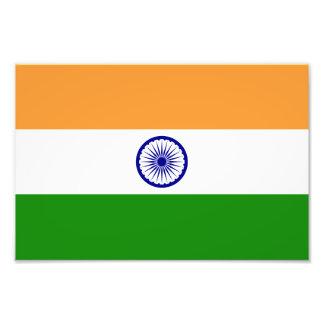 Bandera de la India Fotografia