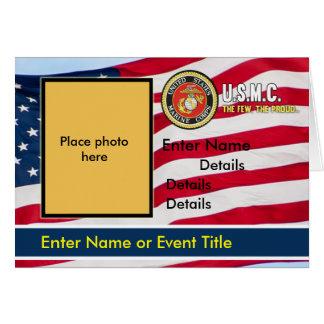 Bandera de la invitación del USMC