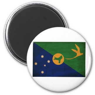 Bandera de la Isla de Navidad Imanes Para Frigoríficos