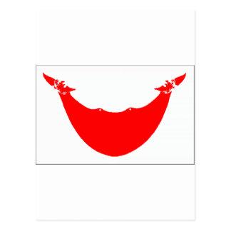 Bandera de la isla de pascua (Chile) Postal