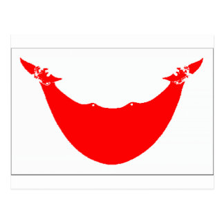 Bandera de la isla de pascua (Chile) Postales