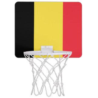 Bandera de la mini meta del baloncesto de Bélgica Mini Tablero De Baloncesto