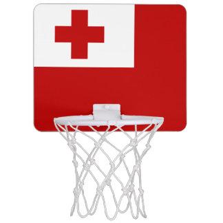 Bandera de la mini meta del baloncesto de Tonga Mini Tablero De Baloncesto