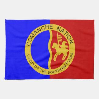 Bandera de la nación de Comaanche Toallas