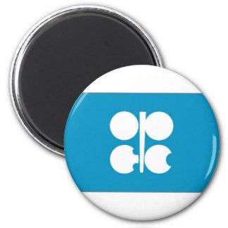 Bandera de la OPEP Imán Redondo 5 Cm