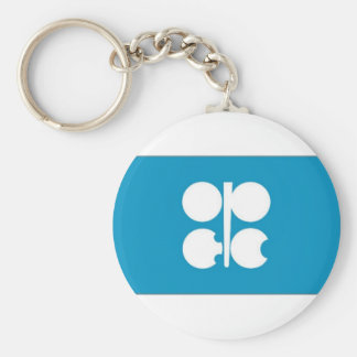 Bandera de la OPEP Llavero Redondo Tipo Chapa