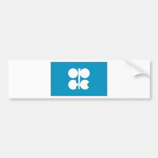 Bandera de la OPEP Pegatina Para Coche