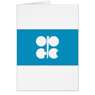 Bandera de la OPEP Tarjeta De Felicitación