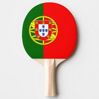 Bandera de la paleta del ping-pong de Portugal Pala De Ping Pong