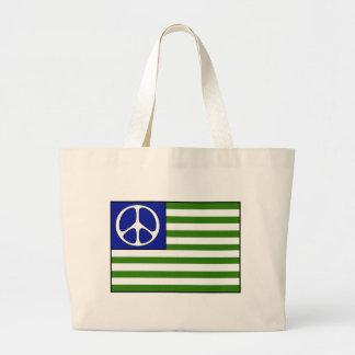 Bandera de la paz bolsas