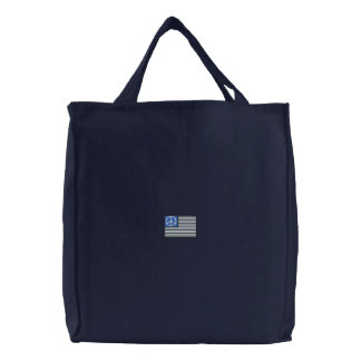 Bandera de la paz bolsas de lienzo
