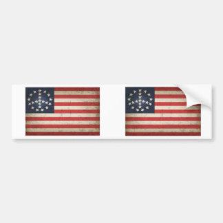 Bandera de la paz - xdist pegatina para coche
